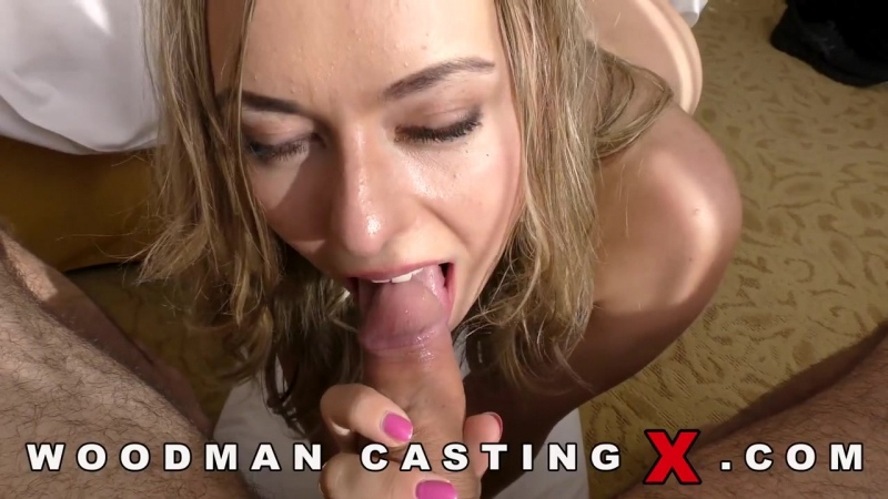 Daniella Margot [Young Nude Blonde Russian Girl Woodman Casting X]