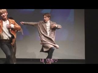 [FANCAM] 171112 Sinchon fansing (focus ByungChan)