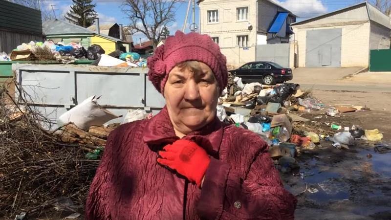 Мусорная не-реформа по улице 1-я Пушкарная в Орле