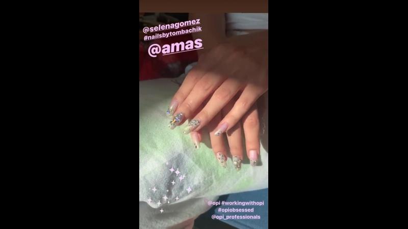 November 24 Selena Gomez in Tom Bachiks's Instagram Stories 1