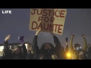 Второй день протестов в Миннесоте