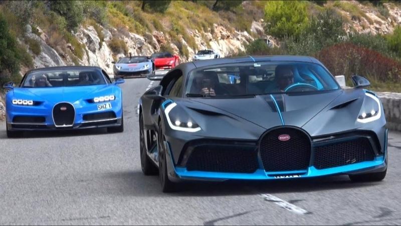 Bugatti DIVO en convoi à 10M€ RIEN N'ÉTAIT PRÉVU