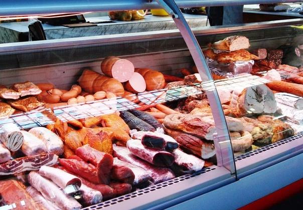 Расскажите, где покупаете мясное? Колбасы?В послед...