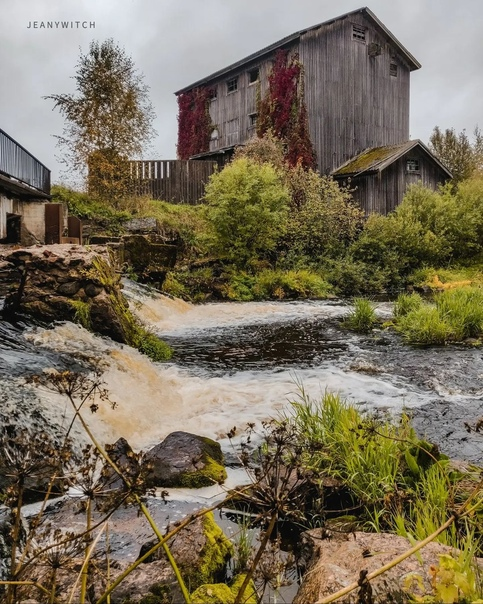 Финская водяная мельница в ГончаровоПостроена была...
