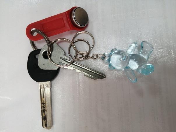 Найдены ключи на автомобильной парковке у перекрестка ул....