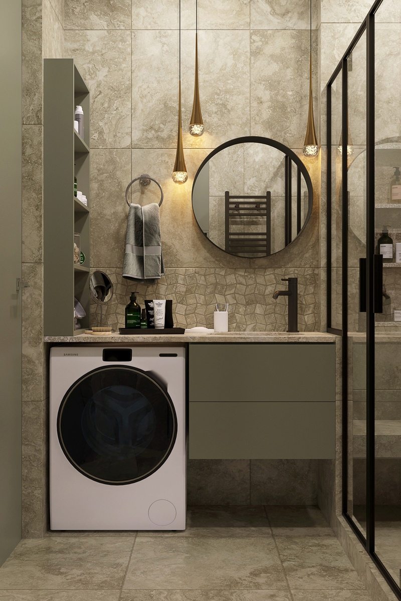 Проект квартиры-студии 27-28 кв.