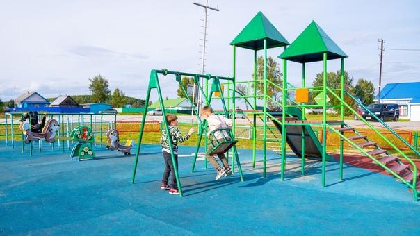 6 детских площадок откроют в Нефтеюганске в следую...