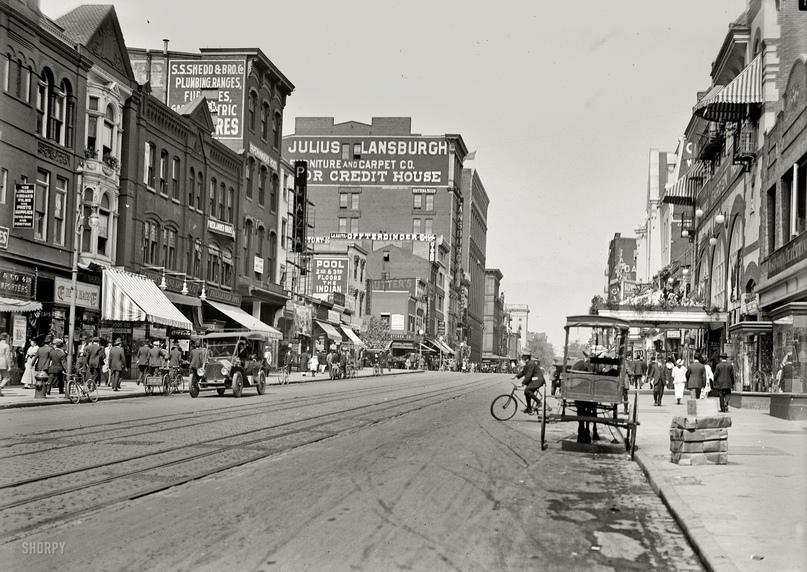 HD-фотографии городов США сделанные в 1900-1915 годах, изображение №24