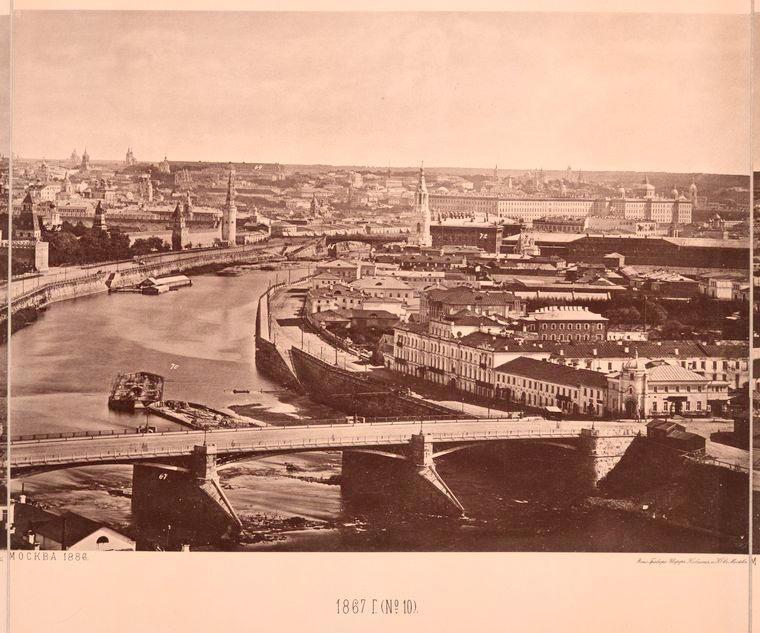 Москва без людей в 1867 году. Где все люди?, изображение №22