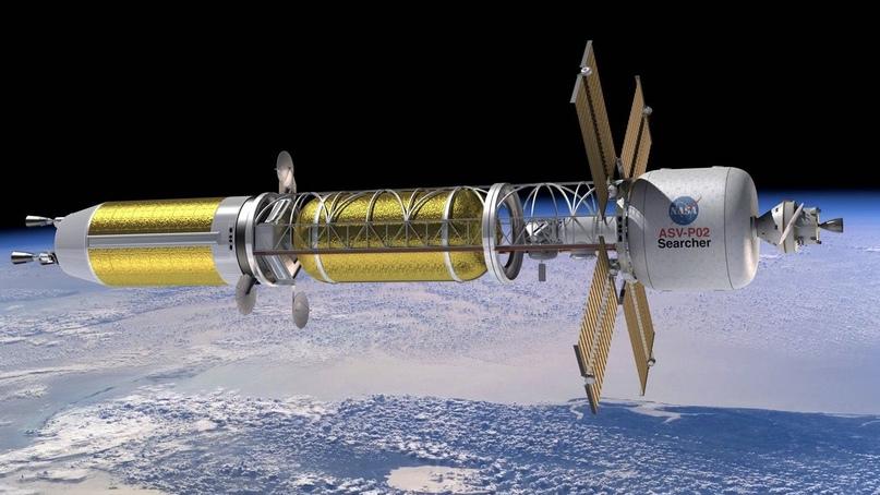 NASA возвращается к идее создания ядерного двигателя для космических кораблей.