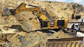 Caterpillar 345C, 352F, 365B, 365C, 374D, 375, 385C, 390D, 5090B, 6015B, 6040 Excavators-MMC Movie