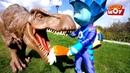 Фиксики - Гуляем по парку с фиксиками и динозаврами 🦕