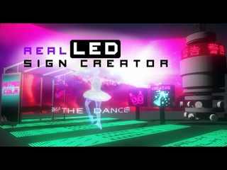 Real LED Sign and Digital Display Creator - Unreal Marketplace Asset