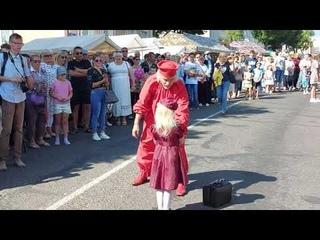 Импровизации клоуна / IX Международный праздник «Вишневый фестиваль»/г. Глубокое /2021