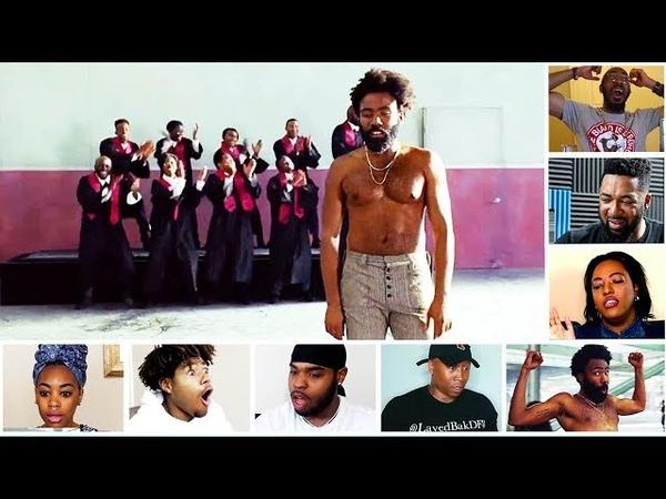 Reactors Reactions To Childish Gambino This Is America Church Choir Scene