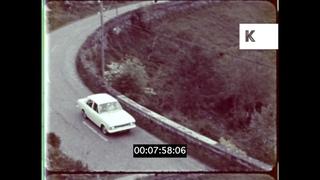1960s Irish Countryside, Cork, Historical Ruins,  Travelogue, 16mm