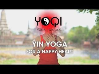YIN YOGA FOR A HAPPY HEART