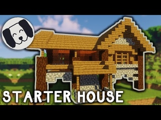 Minecraft: Easy Starter House! #6