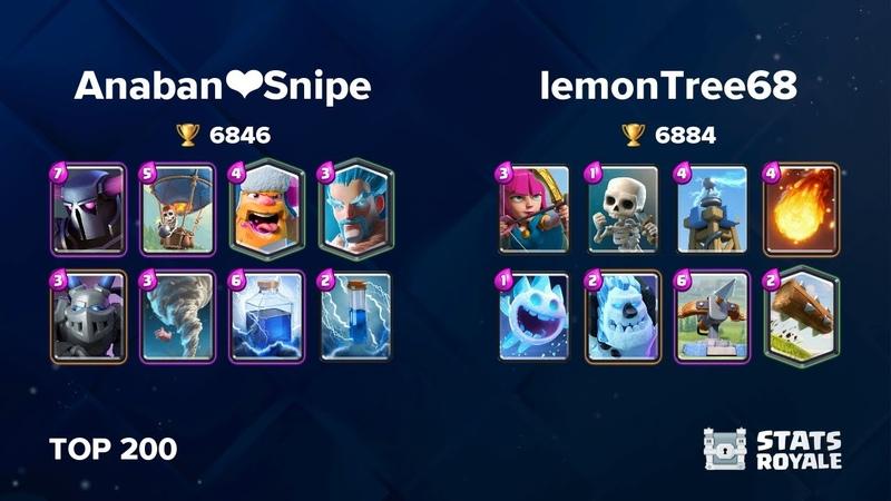 Anaban❤️Snipe vs lemonTree68 TOP 200