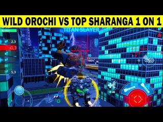 WILD OROCHI VS TOP SHARANGA 1 ON 1  |  WAR ROBOTS