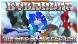 Everhunt - BIG MLP OC Speedpaint