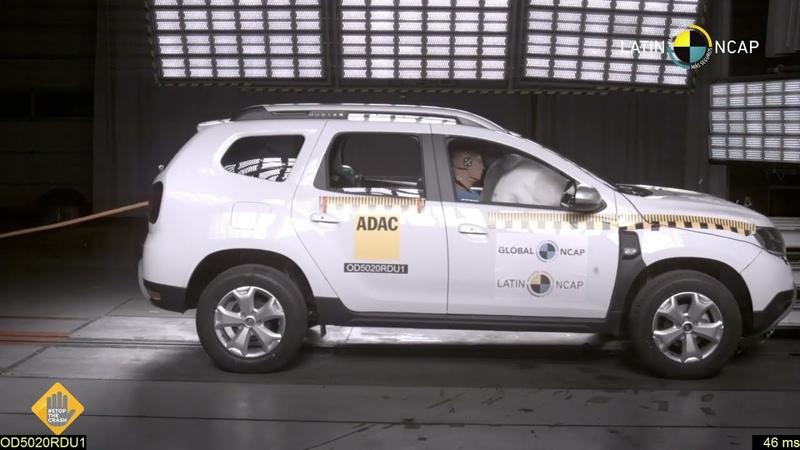 Renault Duster 2 Airbags